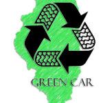 Illinois green car recycler logo